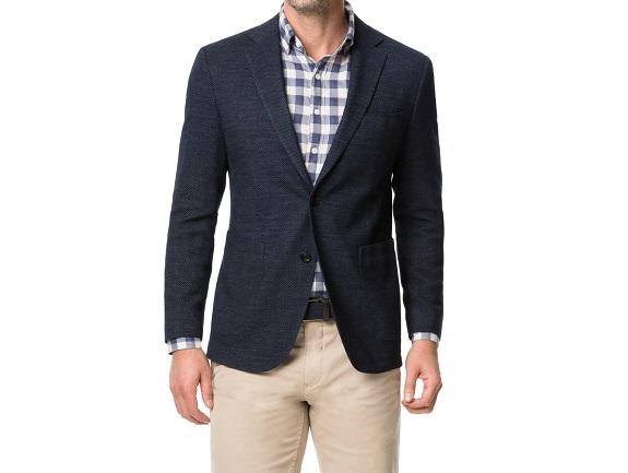 Rodd & Gunn Haldon - Manteau de sport coupe régulière en laine et coton stretch