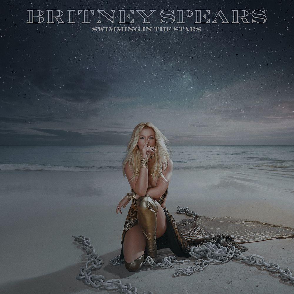 nager dans les étoiles couverture artistique britney Britney Spears fête son anniversaire en partageant une chanson inédite Swimming in the Stars: Stream