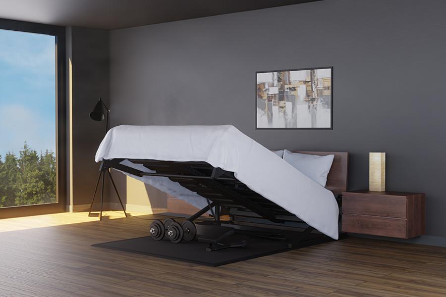 Réglage du lit pivotant Home Gym