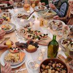 repas de vacances