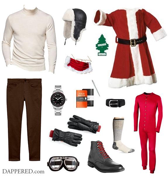 Scénario de style Santa Christmas Eve 2020