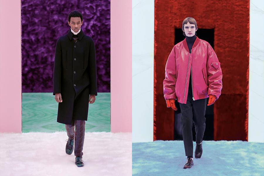 Collection de vêtements pour hommes Automne_Hiver 2021 de Prada 1