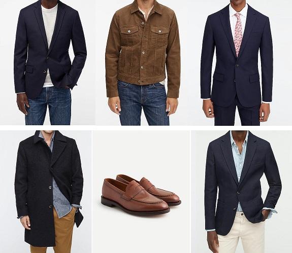 J. Crew vêtements pour hommes