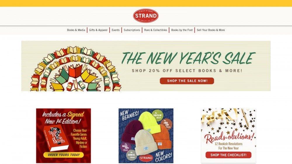 The Strand, une immense librairie avec un penchant pour les précommandes signées et les titres rares