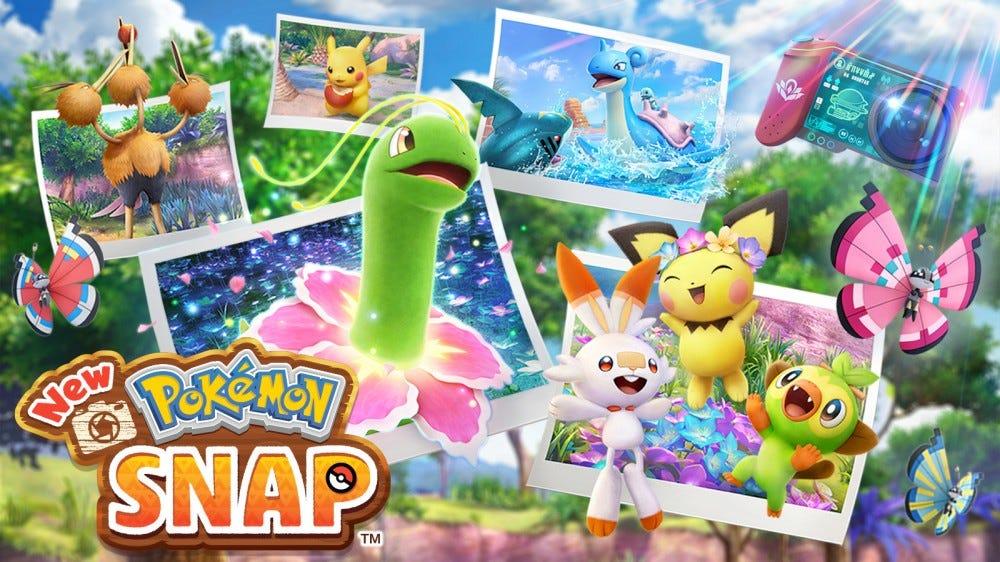 Une illustration de 'New Pokemon Snap'