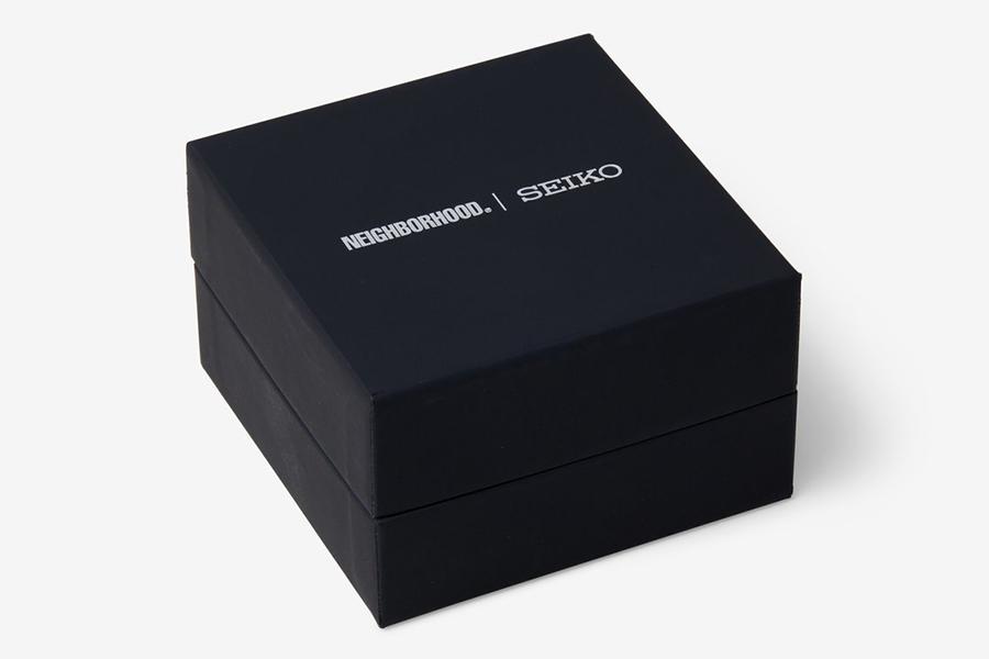 Boîte de montre Neighborhood x Seiko