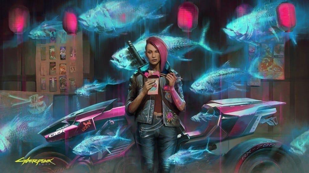 Image promotionnelle Cyberpunk 2077