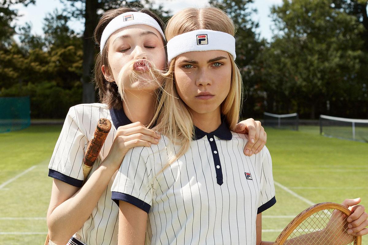 Meilleures marques de vêtements de tennis pour le sport sur le court Fila