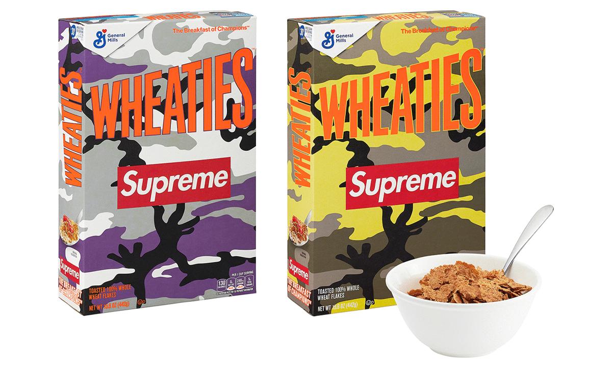Boîte de céréales Wheaties