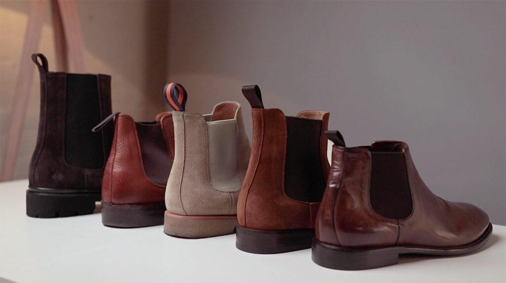 Chelsea boots différentes hauteurs de tige