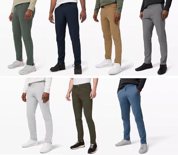 pantalons pour hommes lululemon