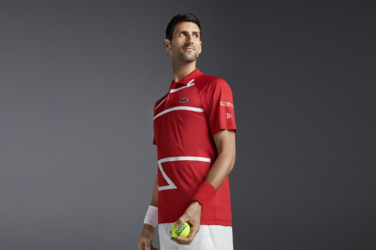 Meilleures marques de vêtements de tennis pour faire du sport sur le court Lacoste