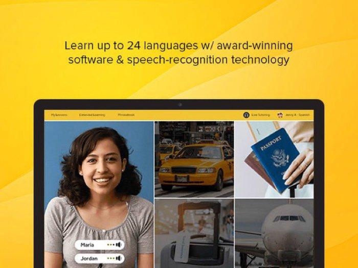 Abonnement d'un an à Rosetta Stone