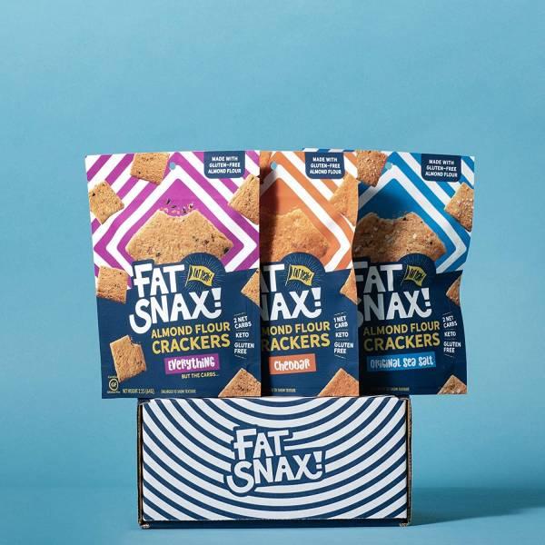 Fat Snax, une collation adaptée aux céto qui peut avoir le goût de Cheezits et de Sun Chips