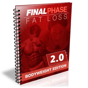 dernière phase de perte de graisse poids corporel édition 2.0