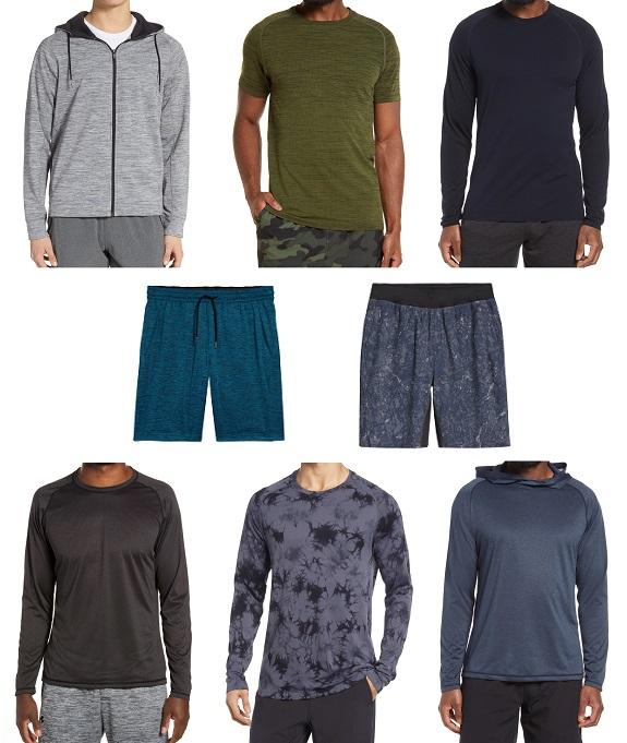 Vêtements de sport pour hommes Nordstrom Zella