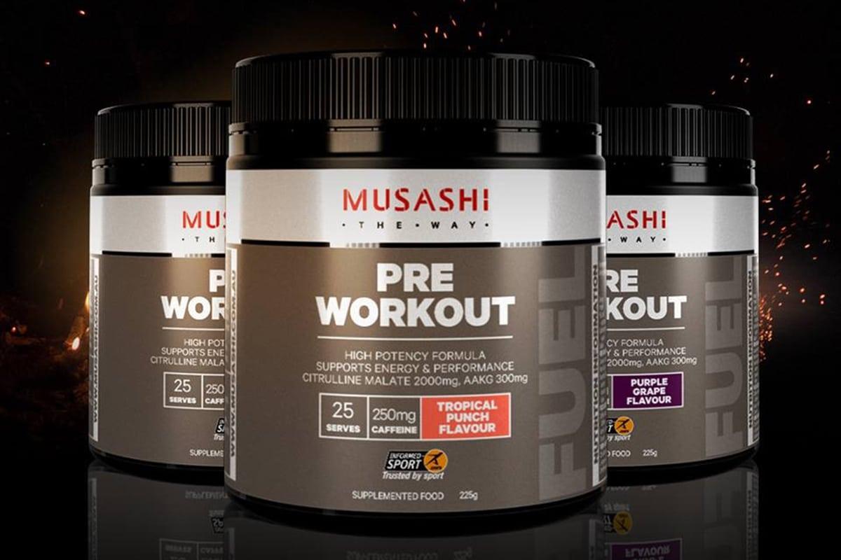 Pré-entraînement Tout ce que vous devez savoir Musashi The Way Pre-Workout