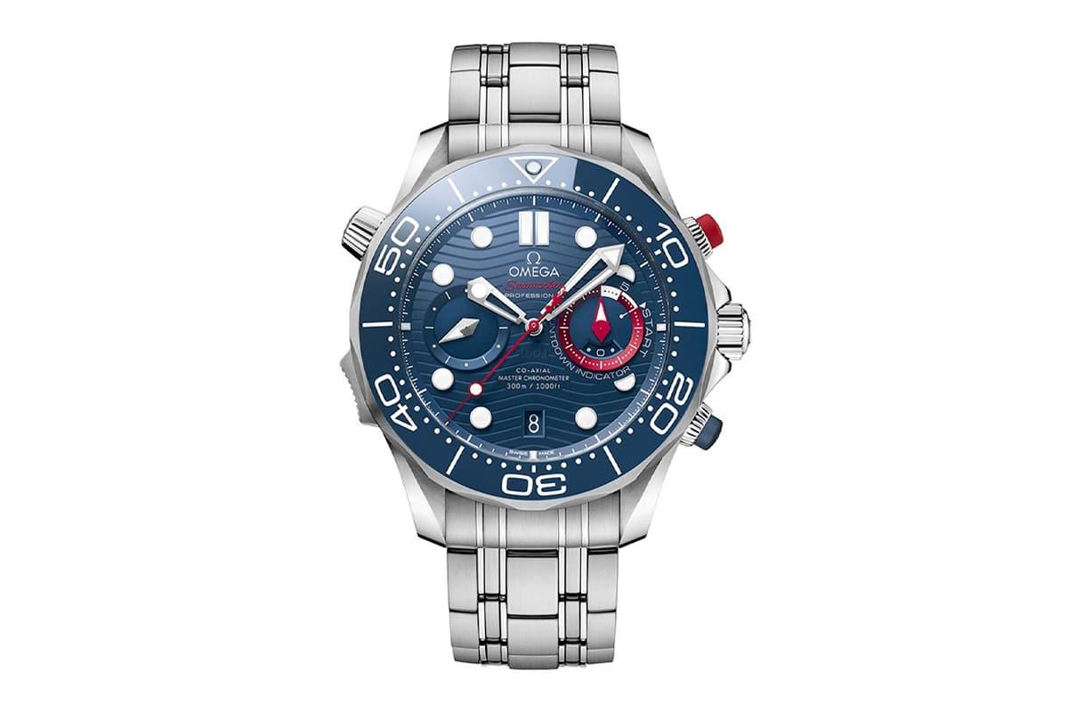 Chronographe OMEGA Seamaster Diver 300m America's Cup