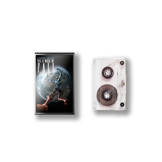 c'est là que nous tombons la cassette d'œuvres d'art
