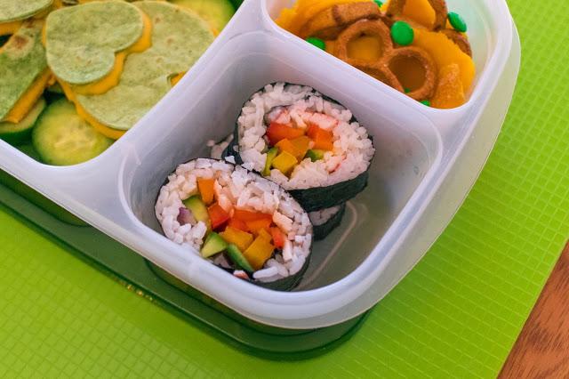 Comment faire un shamrock Quesadilla et Rainbow Sushi Recette de déjeuner de la Saint-Patrick