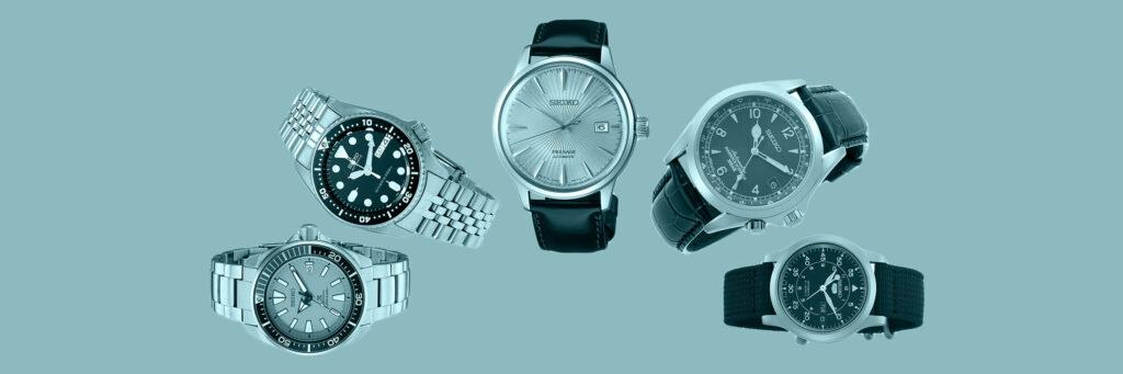 meilleures montres seiko montres de sport et montres habillées