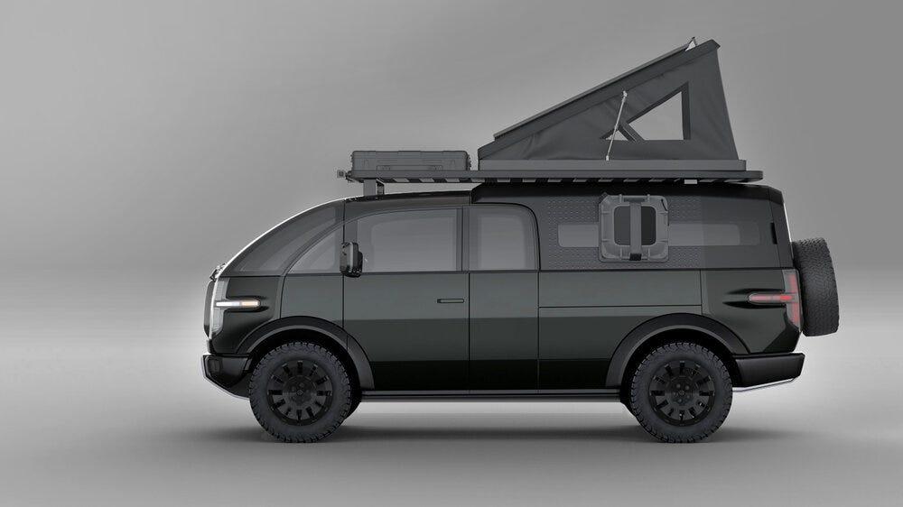 Un ramassage avec une section camping-car incluse.