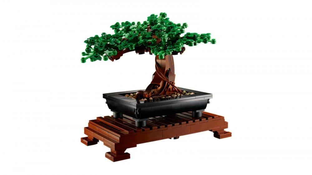 Ensemble d'arbres bonsaï LEGO Creator Expert
