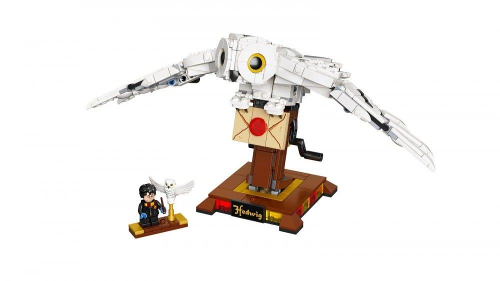 Ensemble LEGO Harry Potter Hedwige