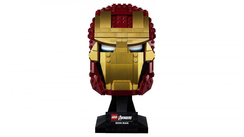 Ensemble de casques LEGO Marvel Iron Man