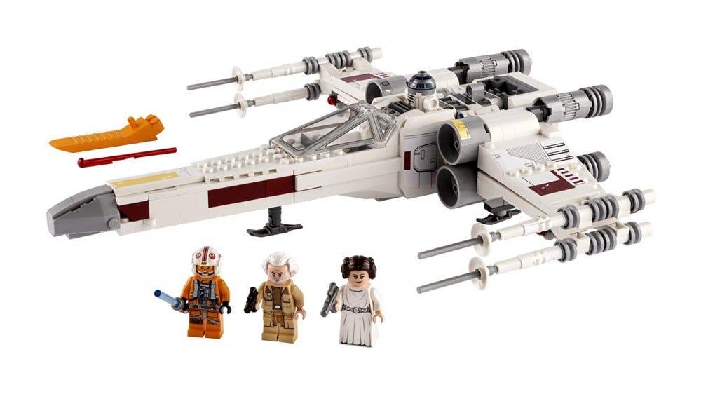 Ensemble X-Wing LEGO Star Wars Luke Skywalker