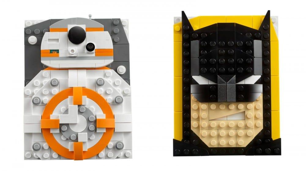 LEGO Brick Sketches Ensembles BB-8 et Batman