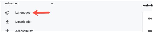Accédez aux paramètres avancés sur Google Chrome