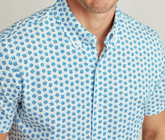 Chemise en jersey (matière du t-shirt) Riviera