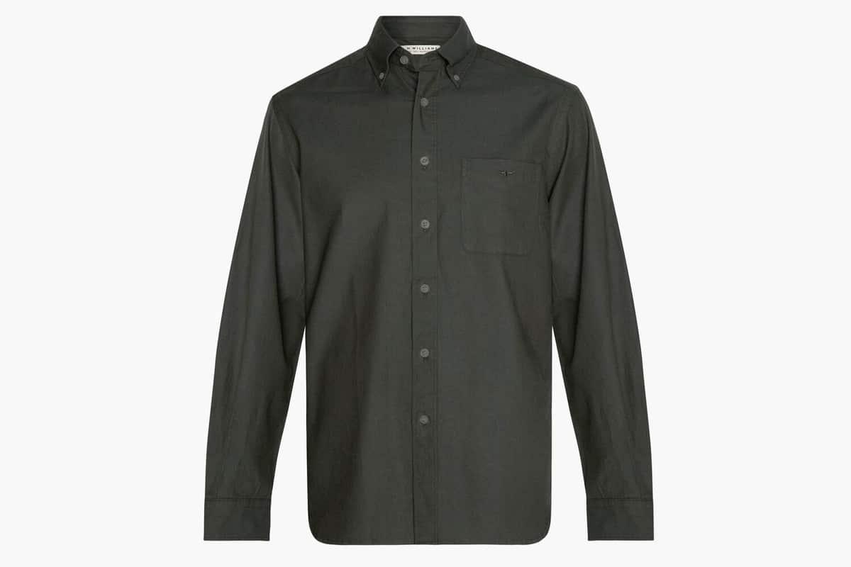 Chemise boutonnée Collins