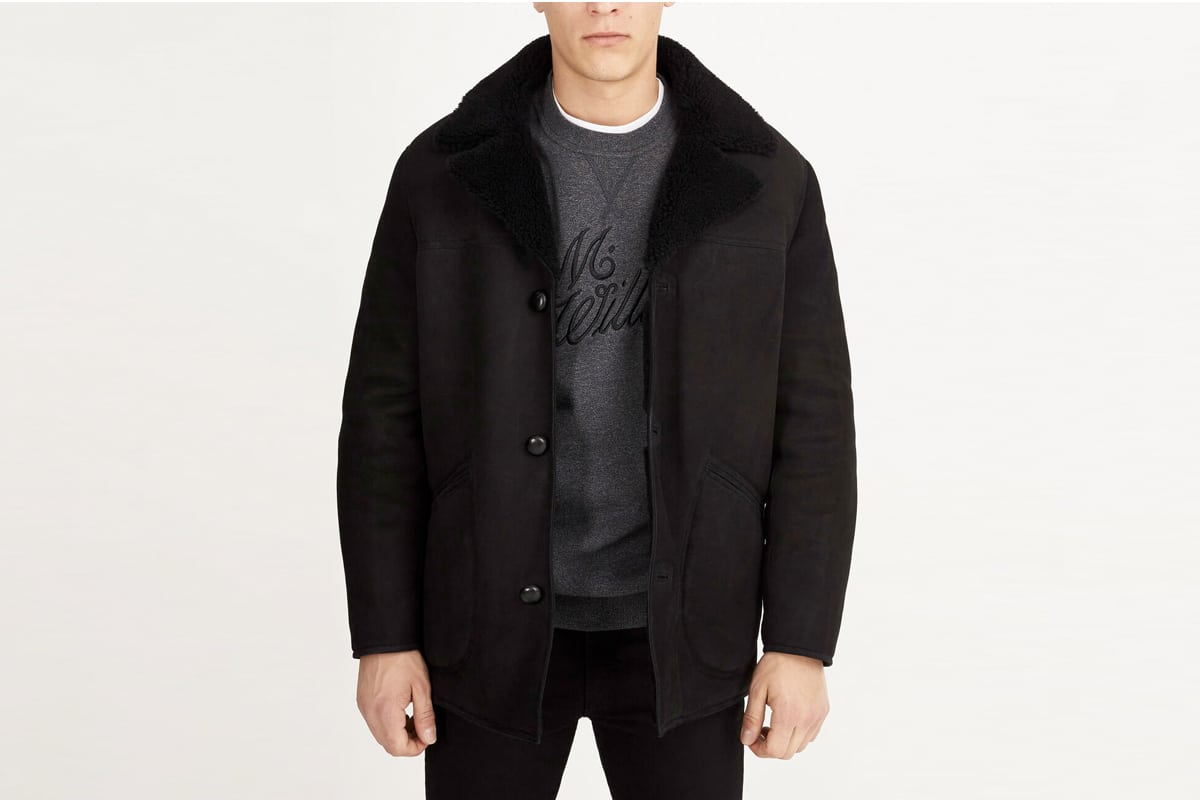 Manteau en shearling RM Williams