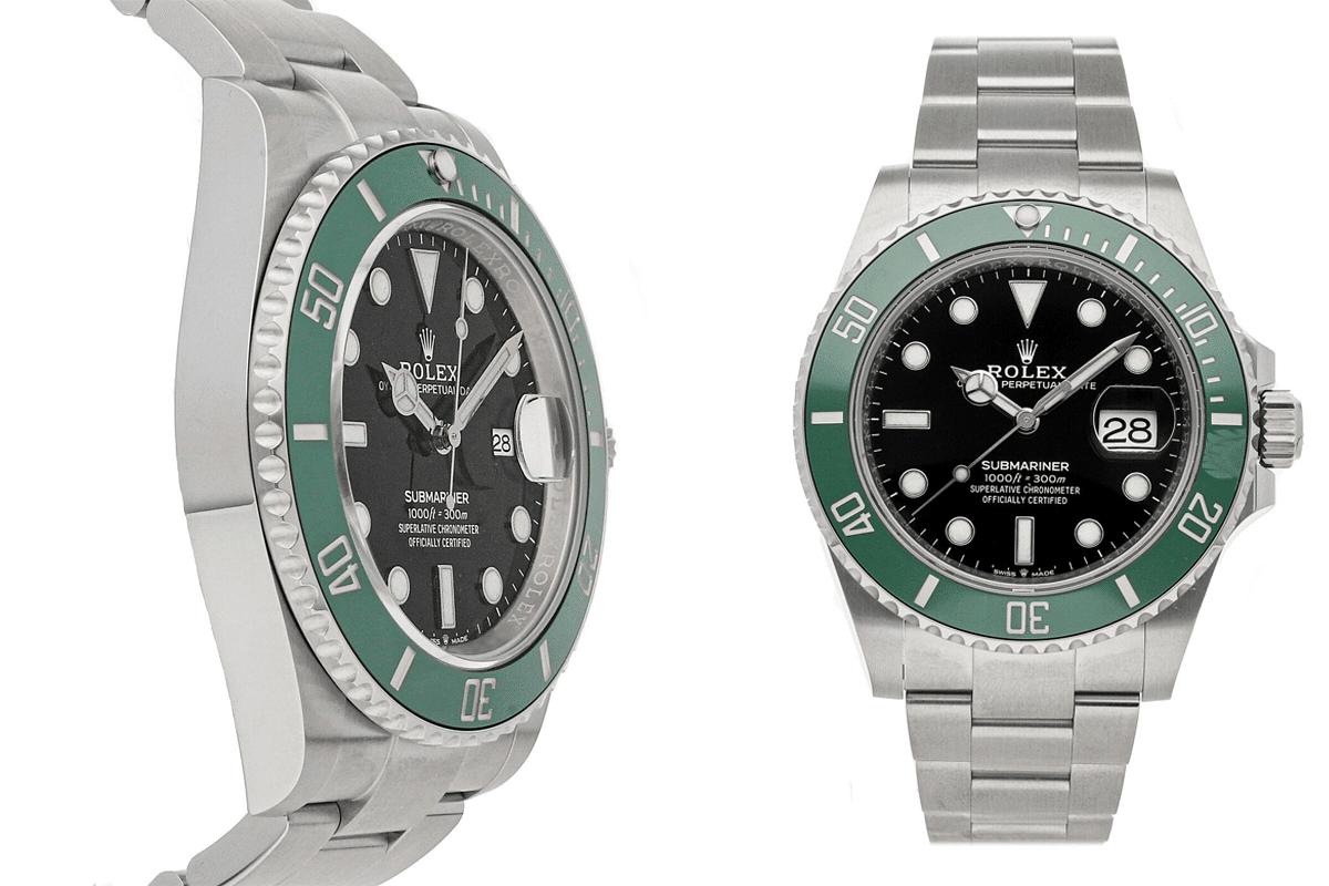 Montre Rolex Submariner Date Kermit Auto Steel Homme Oyster Bracelet 126610LV