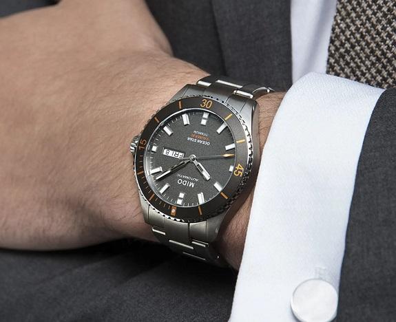 Montre Mido Titanium Ocean Star Diver Bracelet