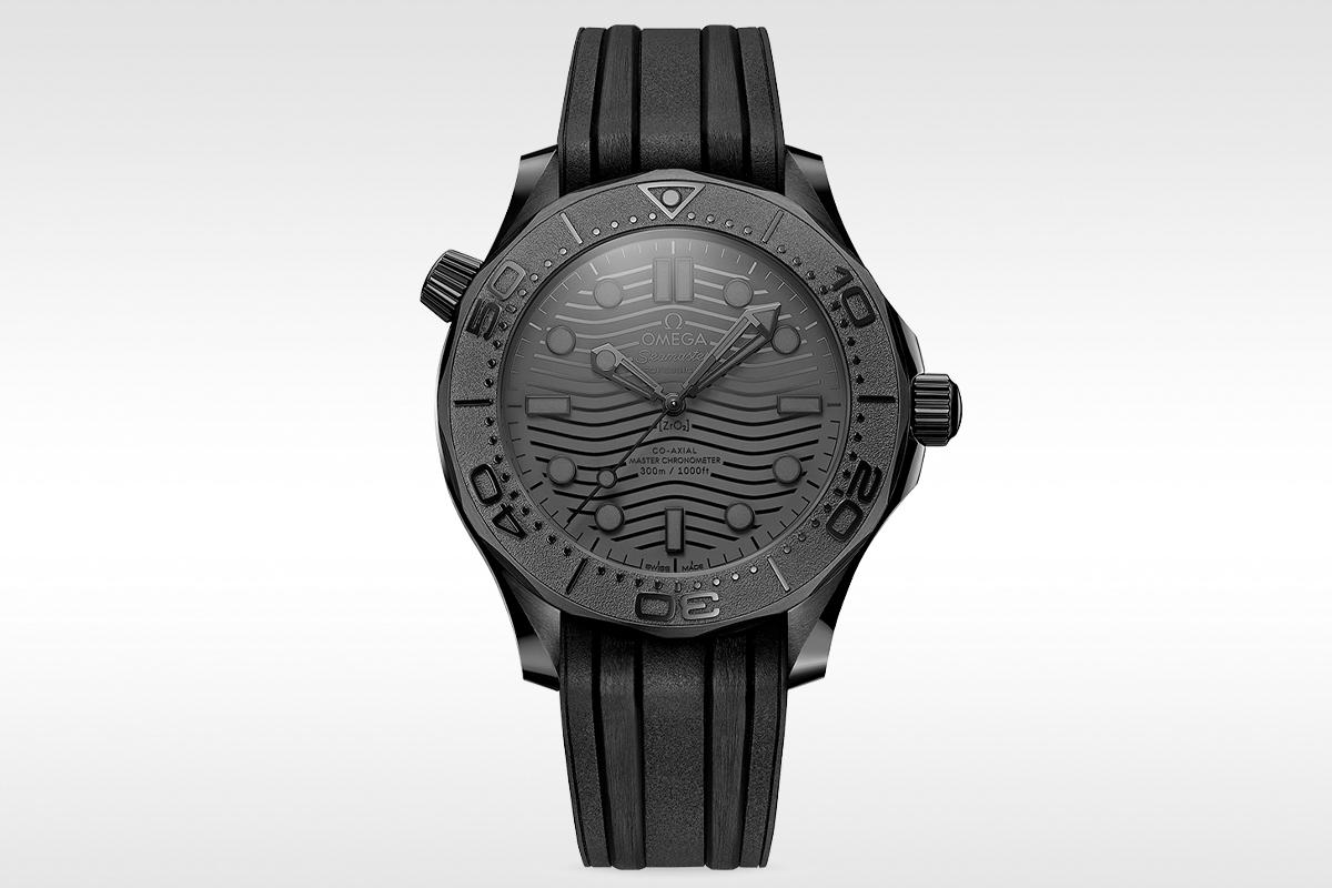Seamaster Diver 300m noir noir