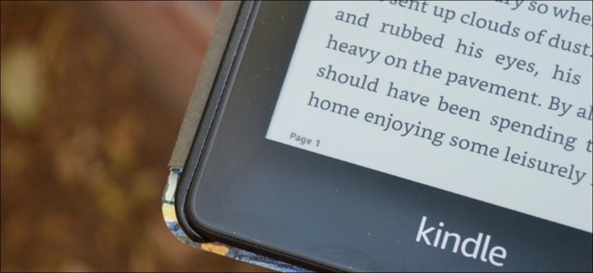 Utilisateur Kindle visualisant le nombre réel de pages du livre