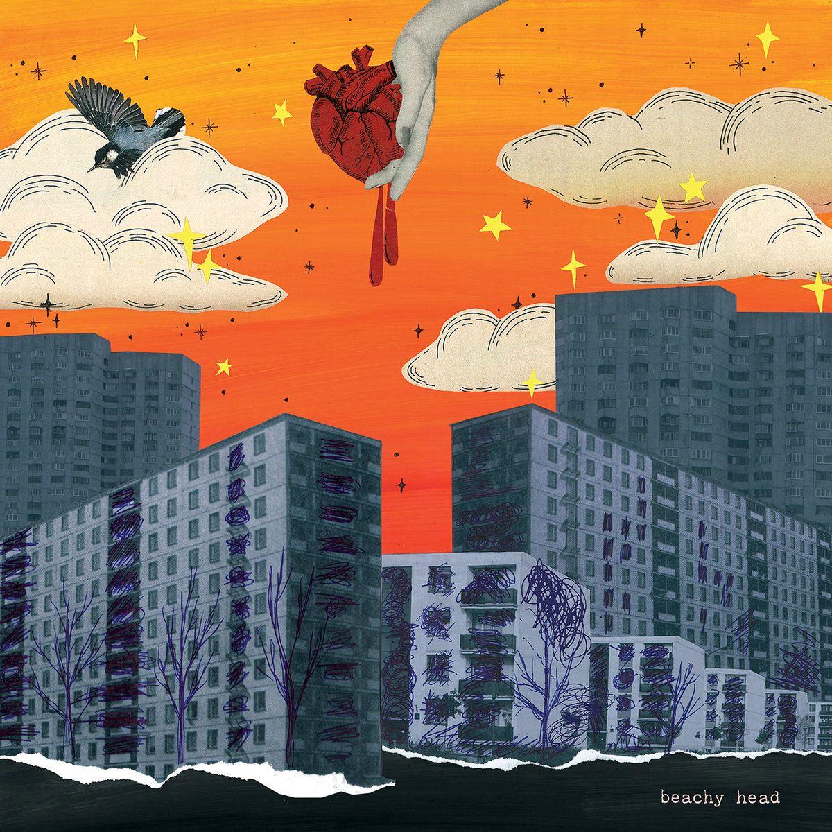 beachy head slowdive flamboyantes lèvres supergroupe album artwork