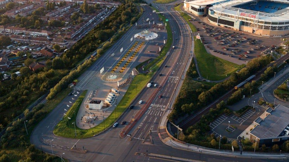 Site projeté de Urban Air Ports à Coventry, Royaume-Uni