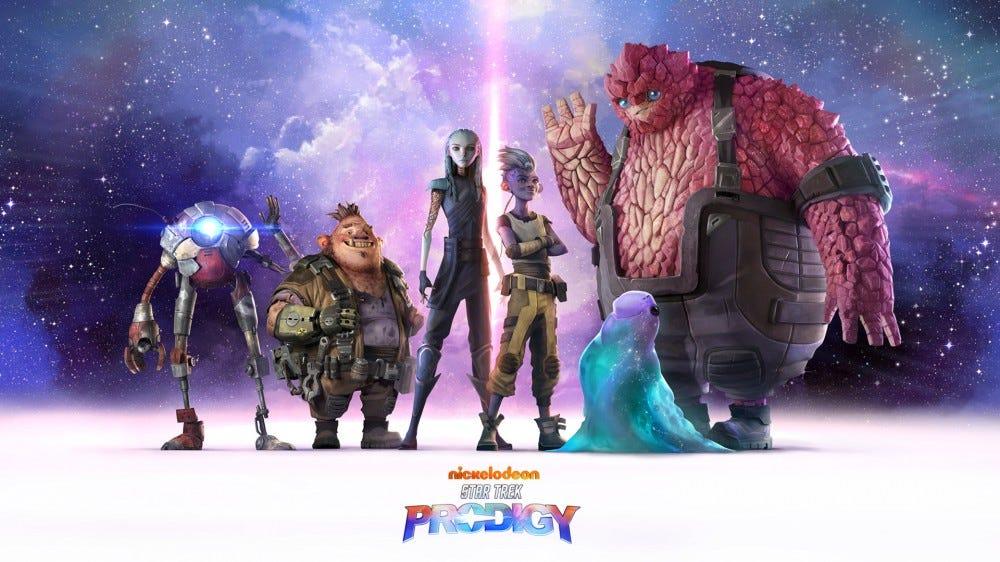 Plusieurs personnages extraterrestres vus dans 'Star Trek: Prodigy'