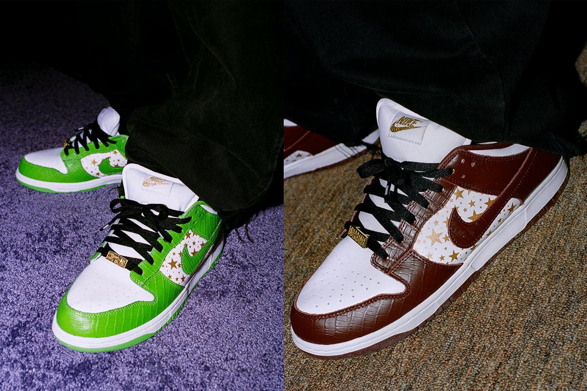 Supreme x Nike Dunk