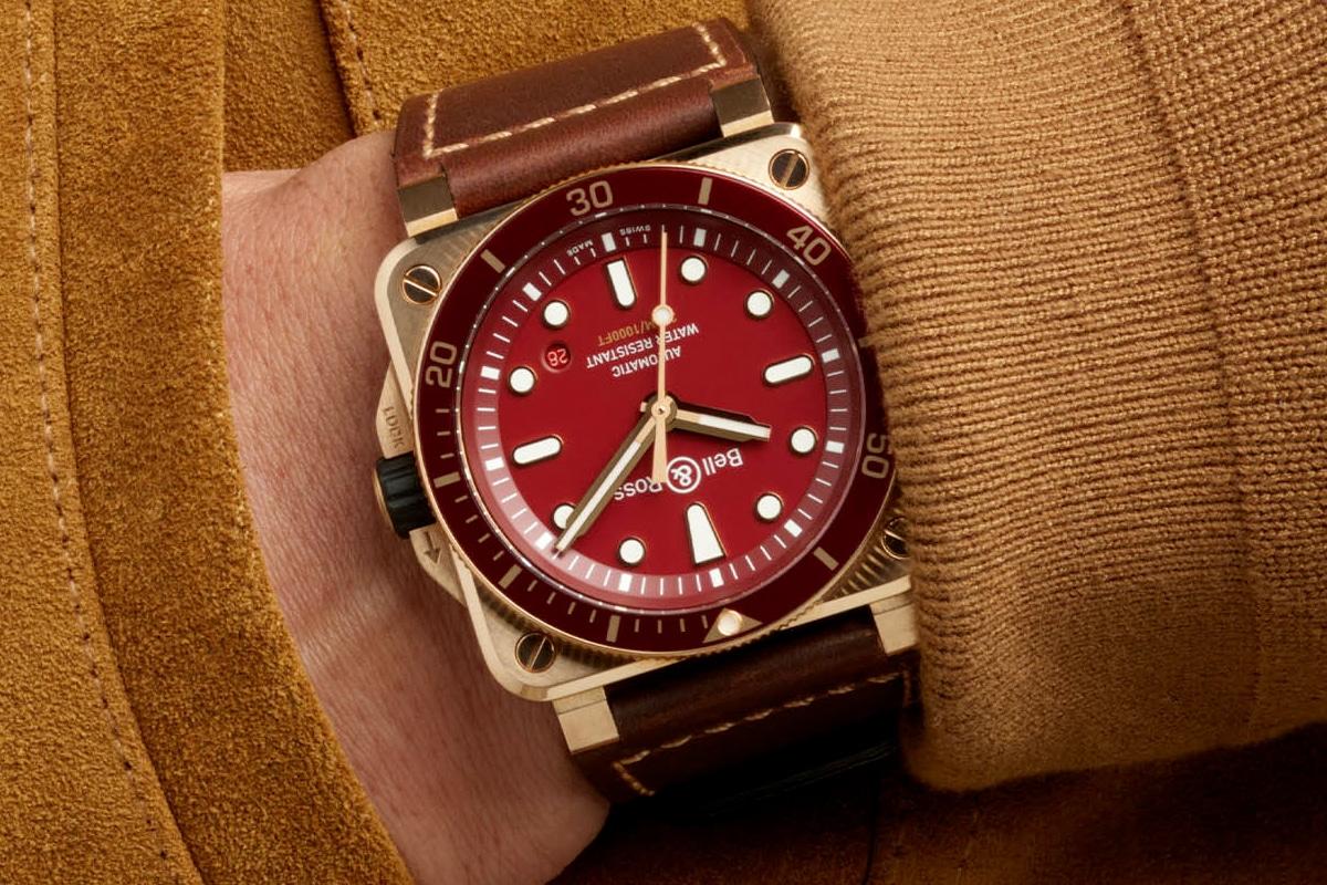 1 bell ross br 03 92 plongeur bronze rouge