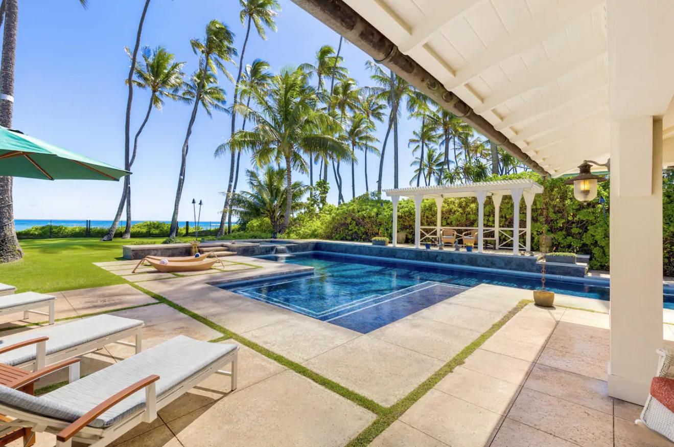 piscine maison de rêve