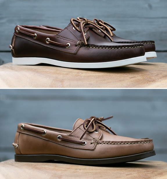 Chaussures bateau Gustin Made in USA