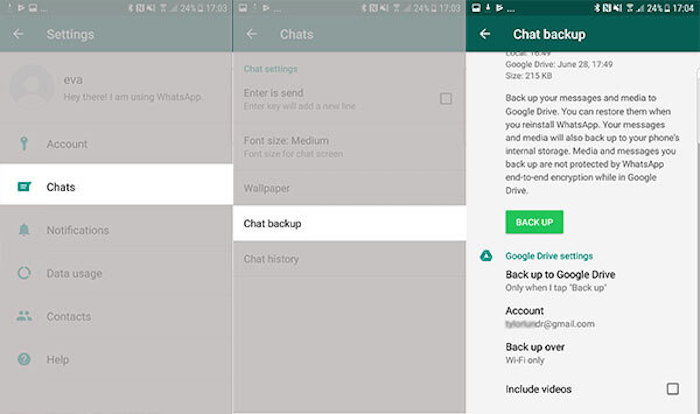 Transférer WhatsApp Business et WhatsApp d'Android vers iOS