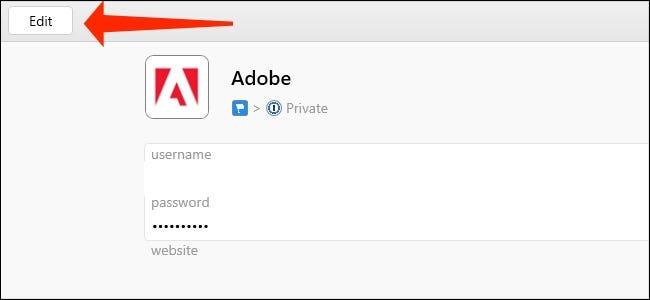 Cliquez sur Modifier