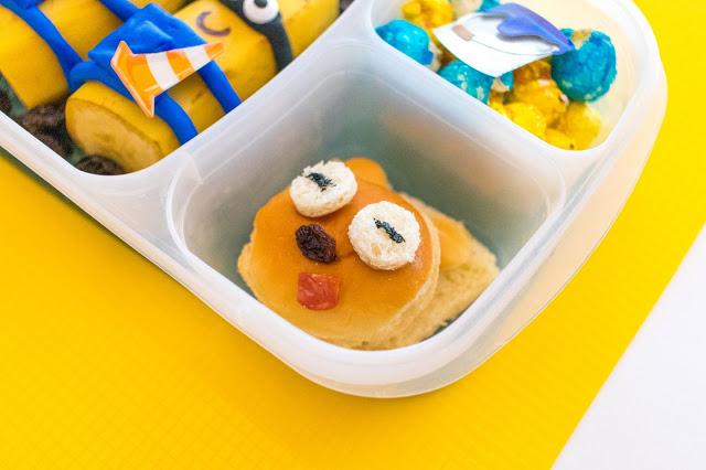 Comment faire une recette de déjeuner Banana Minions, Moi, moche et méchant!