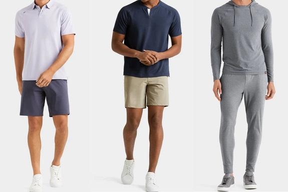 Rhone vêtements pour hommes